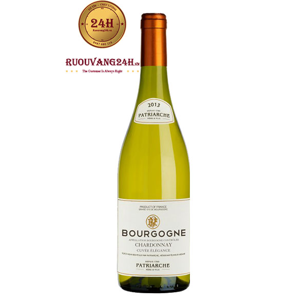 Rượu Vang Patriarche  Bourgogne Chardonnay