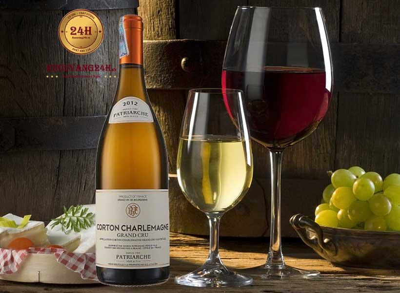 Rượu Vang Patriarche Corton Charlemagne