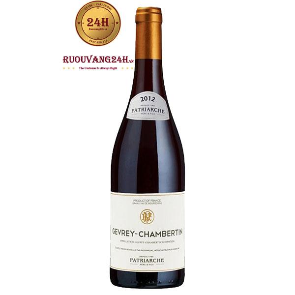 Rượu Vang Patriarche Gevrey Chambertin Les Corbeaux