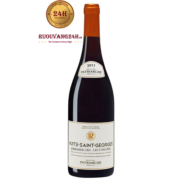 Rượu Vang Patriarche Nuits Saint Georges Les Cailles