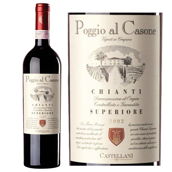 Rượu Vang Poggio Al Casone Chianti
