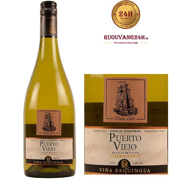 Rượu Vang Puerto Reserve Chardonnay