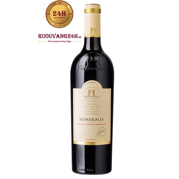 Rượu Vang Raymond Huet Merlot Cabernet Sauvignon