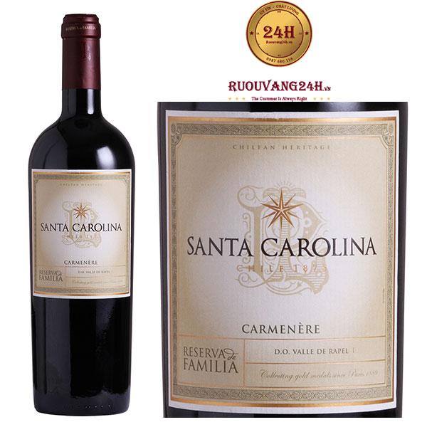 Rượu Vang Reserva De Familia Carmenere