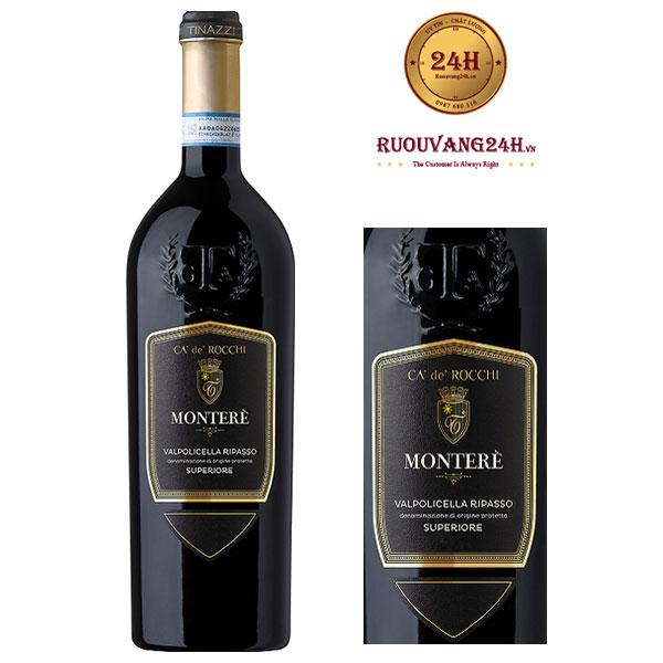 Rượu Vang Ripasso montere valpolicella Superiore