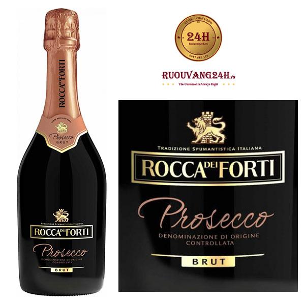 Rượu Champagne Rocca Dei Forti Prosecco