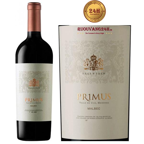 Rượu Vang Salentein Primus Malbec