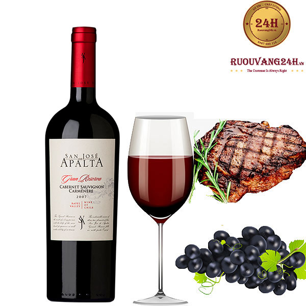 Rượu Vang San Jose De Apalta Gran Reserva