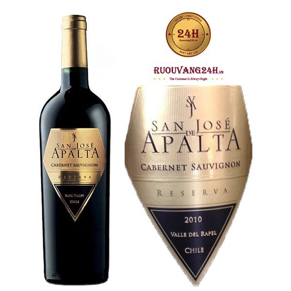 Rượu Vang San Jose De Apalta Reserva - Cabernet Sauvignon