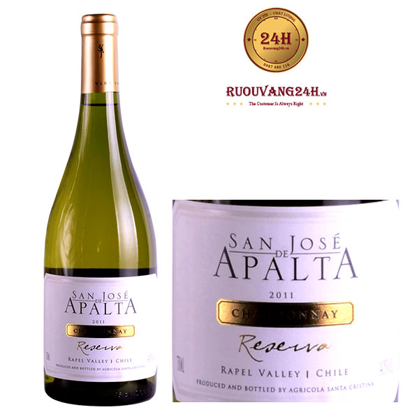 Rượu Vang San Jose De Apalta Reserva -Chardonnay