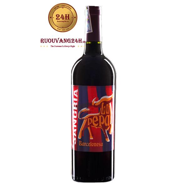 Rượu Vang Sangria Barcelones La Pepa