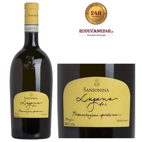 Rượu Vang Sansonina Lugana DOC