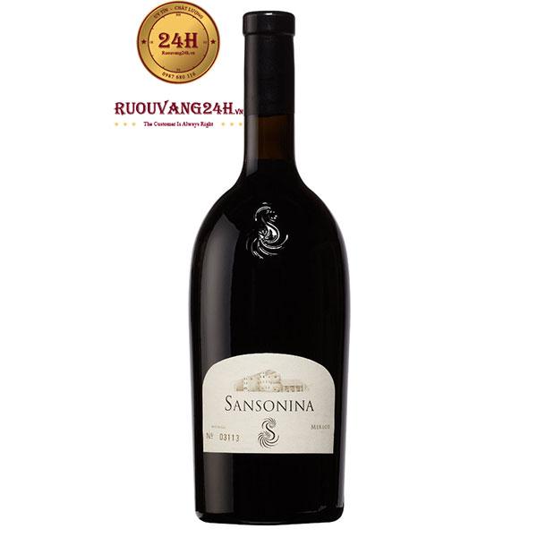 Rượu Vang Sansonina Merlot
