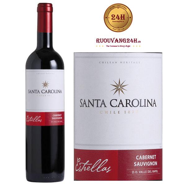 Rượu Vang Santa Carolina Estrellas Cabernet Sauvignon