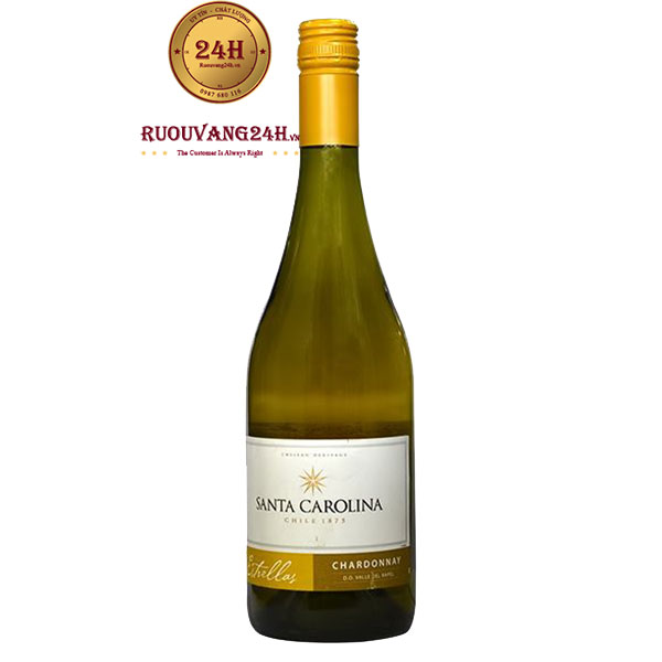 Rượu Vang Santa Carolina Estrellas Chardonnay