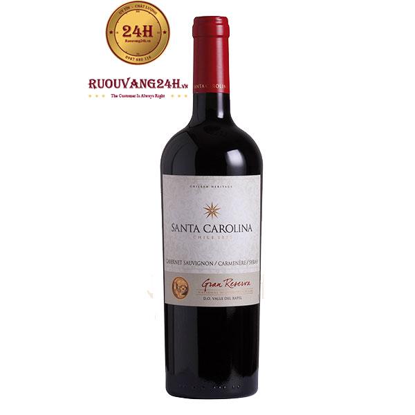 Rượu Vang Santa Carolina Gran Reserva Cabernet Sauvignon Carmenere Syrah