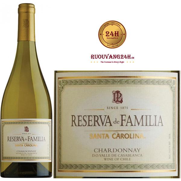 Rượu Vang Reserva De Familia Chardonnay