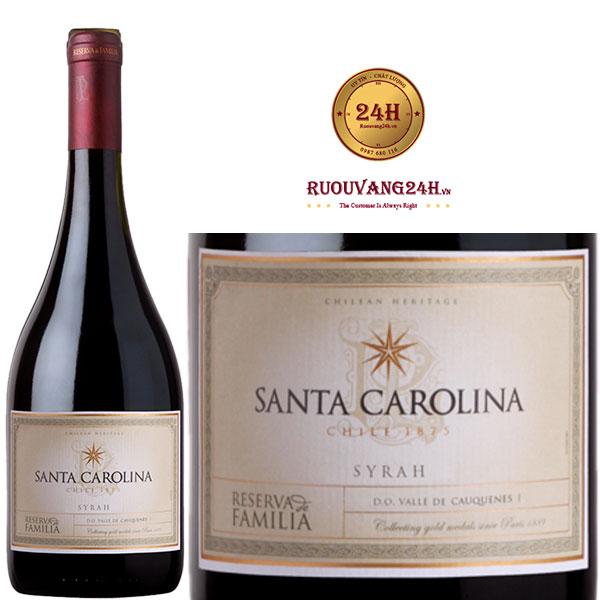Rượu Vang Santa Carolina Reserva De Familia Syrah