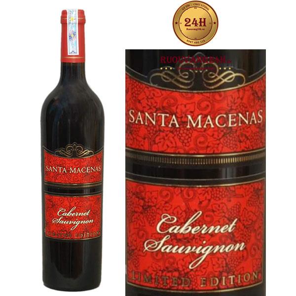 Rượu Vang Santa Macenas cabernet Sauvignon