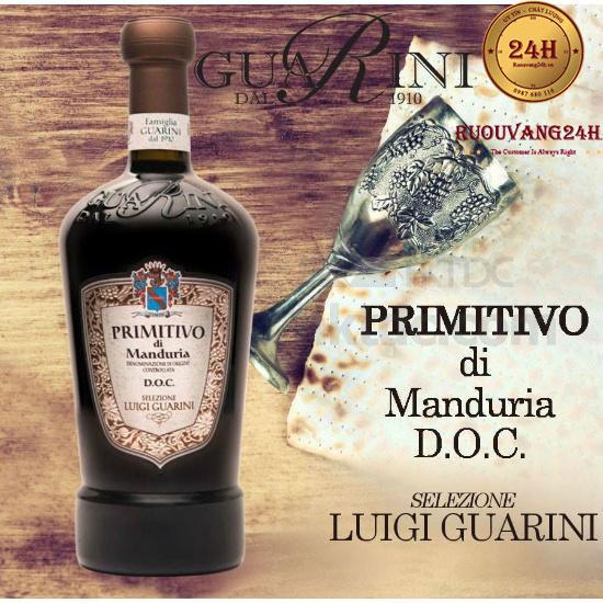 Rượu Vang Selezione Luigi Guarini Primitivo Di Manduria Doc