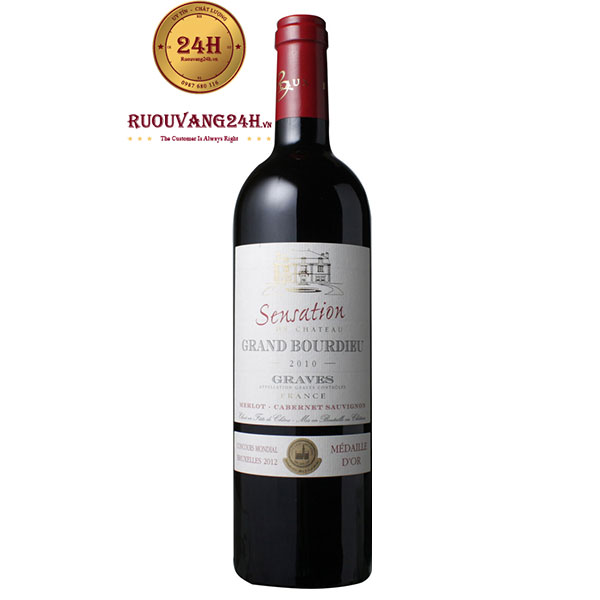 Rượu Vang Sensation de Chateau Grand Bourdieu