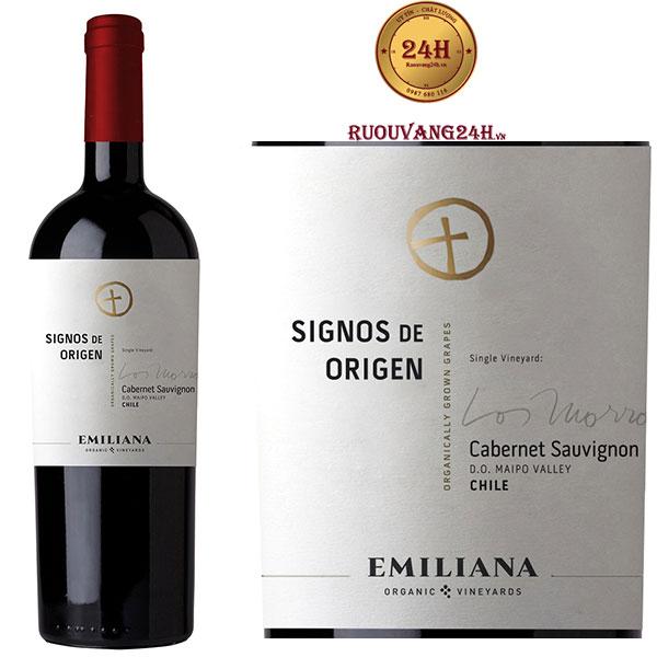 Rượu Vang Signos de Origen Cabernet Sauvignon