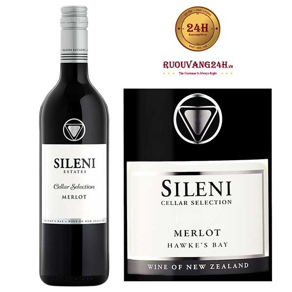 Rượu Vang Sileni Merlot Cellar Selection Hawke's Bay