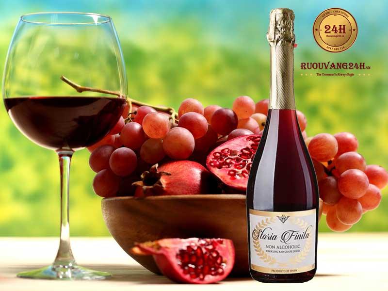 Rượu Vang Storia Finita Sparkling Red