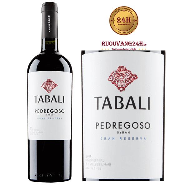 Rượu Vang Tabali Pedregoso Syrah Gran Reserva