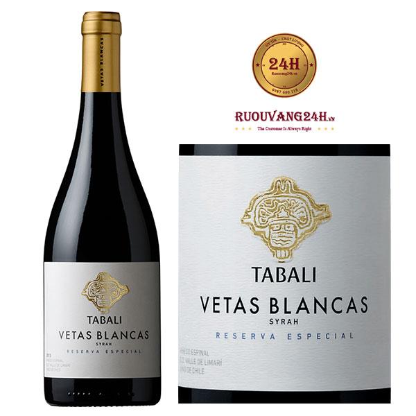 Rượu Vang Tabali Vetas Blancas Syrah Reserva Especial