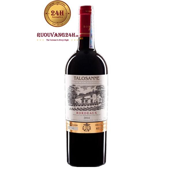 Rượu Vang Talosanne Bordeaux