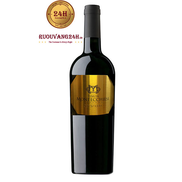 Rượu Vang Tenuta Montecchiesi 23k Gold Selection