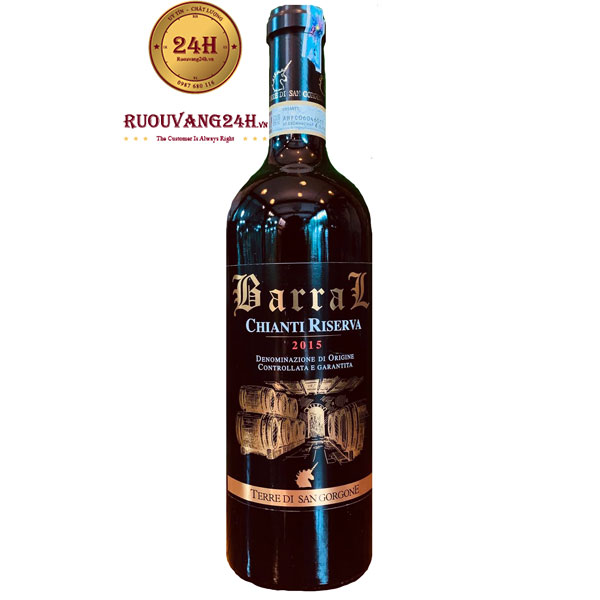 Rượu Vang Terre Di San Gorgone Barral Chianti Riserva