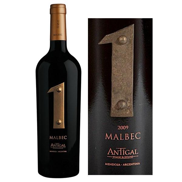 Rượu Vang Antigal 1 Malbec Mendoza