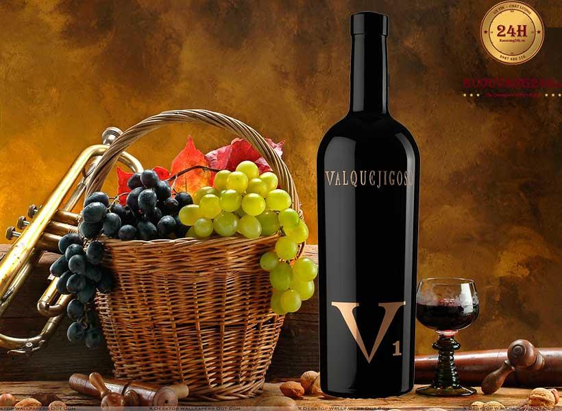 Rượu Vang V1 Valpuejigoso
