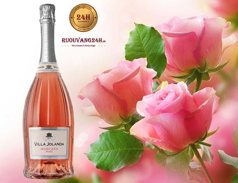 Rượu Vang Villa Jolanda Moscato Rose