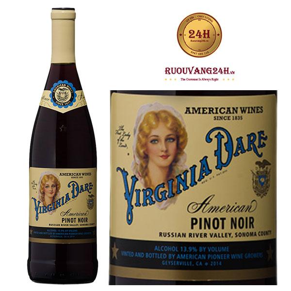 Rượu Vang Virginia Dare Pinot Noir