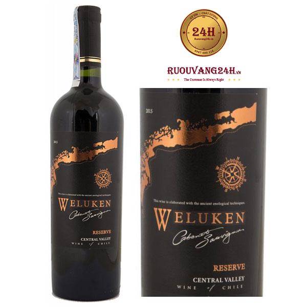 Rượu Vang Weluken CS Reserve