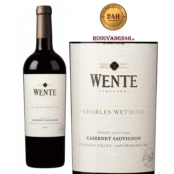Rượu Vang Wente Charles Wetmore