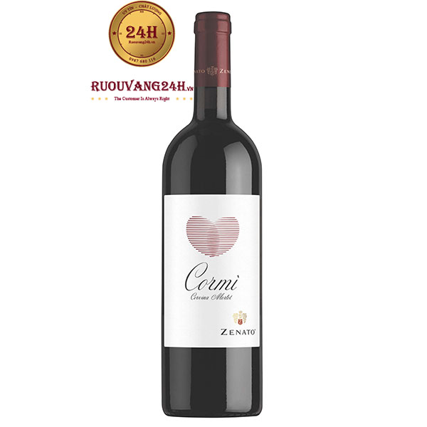 Rượu Vang Zenato Cormi Corvina Merlot