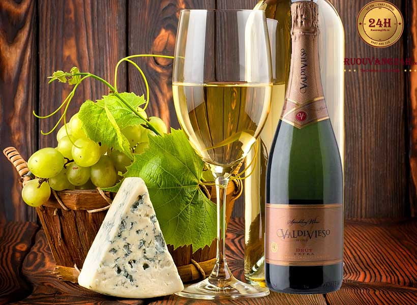 Rượu Vang nổ Valdivieso Sparking Extra