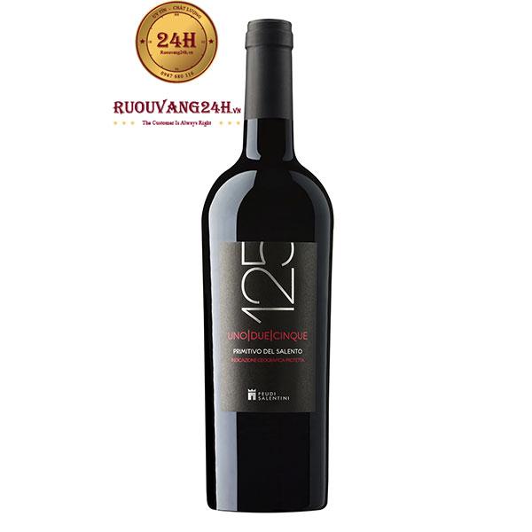 Rượu Vang 125 Primitivo Feudi Salentini