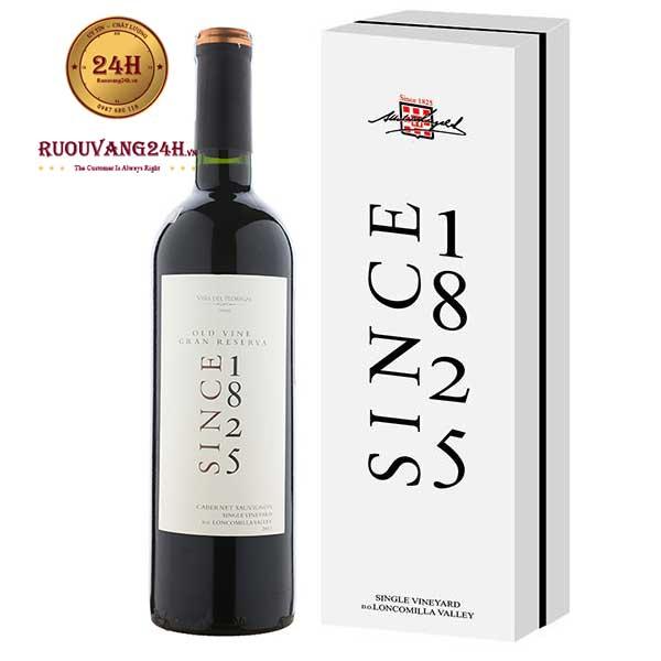 Rượu vang 1825 Gran Reserva Cabernet sauvignon