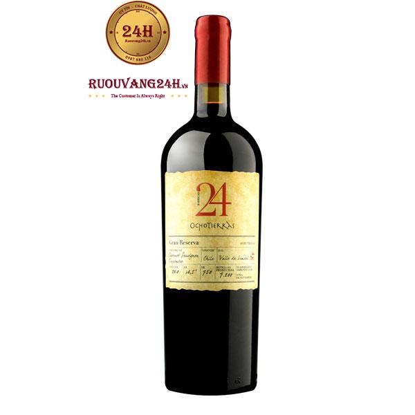 Rượu Vang 24 Ocho Tierras Grand Reserva