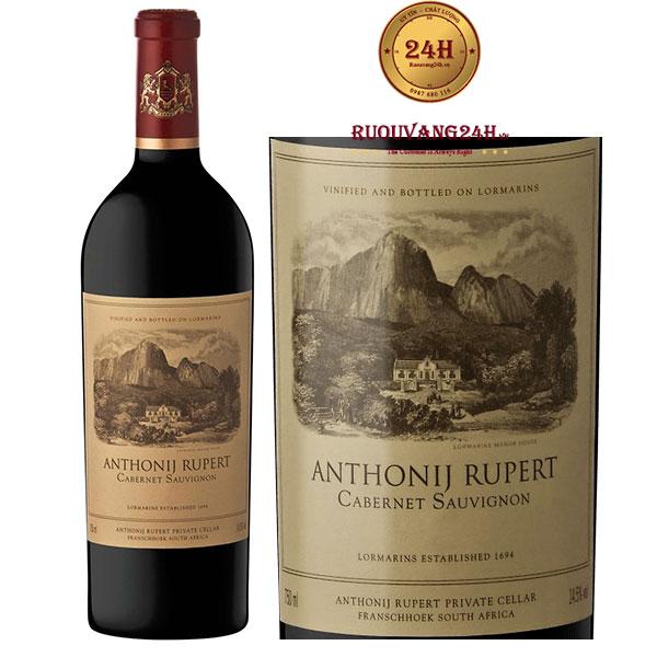 Rượu vang Anthonij Rupert Cabernet Sauvignon
