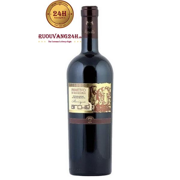 Rượu vangArche Primitivo Di Manduria