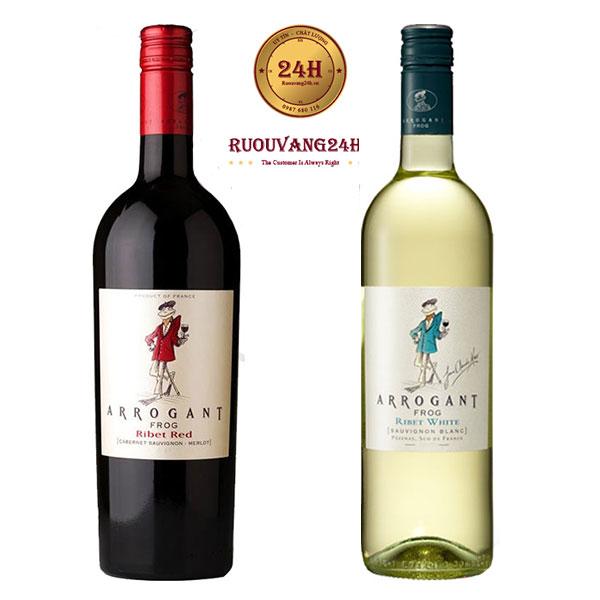 Rượu vang Arrogant Frog Varieties
