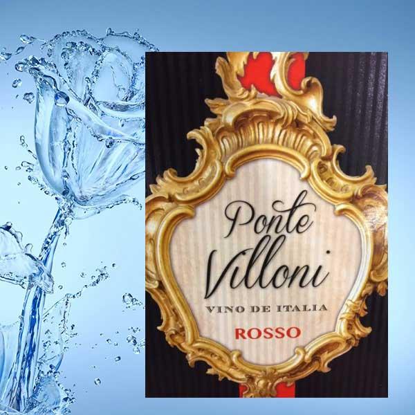 Rượu vang Bịch Ponte Villoni Rosso 3L