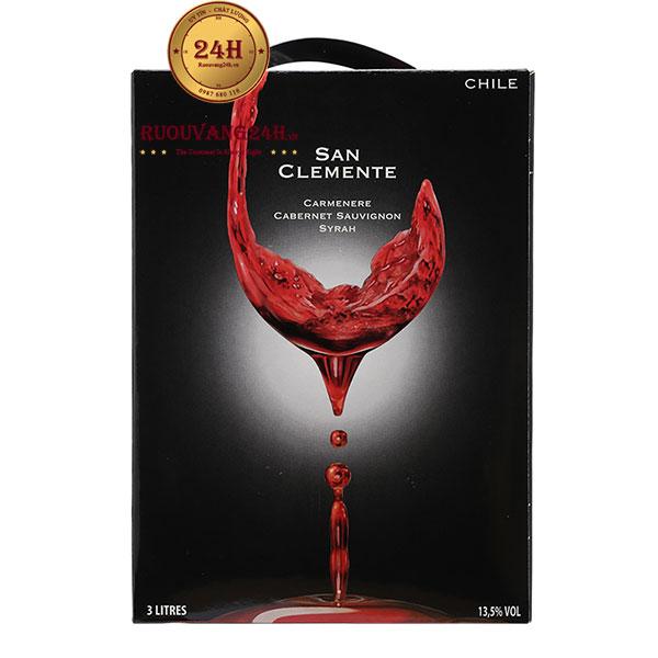 Rượu Vang Bịch San Clemente 3L – 5L