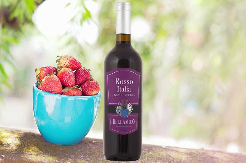 Rượu vang Bellamico Rosso Italia